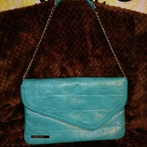 NWOT NINE WEST Turquoise Handbag/Purse